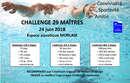 Appel aux bénévoles pour l'organisation du Challenge Maîtres